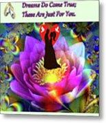 Brian Exton Sacred Flower Of Love  Bigstock 164301632  2991949  12779828 Metal Print