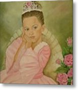 Brianna - The Princess Metal Print