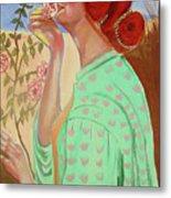 Briar Rose Metal Print by Rusty Woodward Gladdish