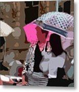 Bribane In The Rain #2 Metal Print