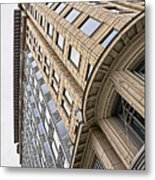 Brick And Steel And Glass Metal Print