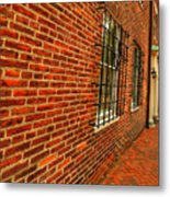 Brick Houses Metal Print