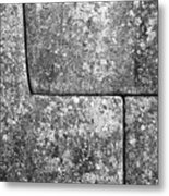 Brick Joints Metal Print