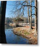 Brick Pond Park Metal Print
