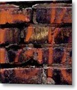 Bricks And Graffiti Metal Print by Tim Good