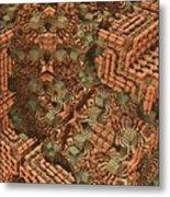 Bricks And Mortar Metal Print