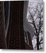 Bricks And Windows Metal Print