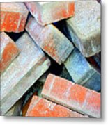 Bricks. Metal Print