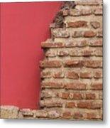 Bricks, Stones, Mortar And Walls - 3 Metal Print