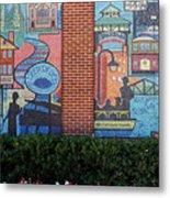 Bricktown Mosaics Metal Print