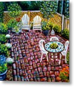 Brickwork Metal Print