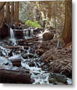 Bridal Veil Falls - British Columbia Metal Print