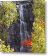 Bridal Veil Falls Black Hills Metal Print