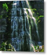 Bridal Veil Falls Canvas 2 Metal Print