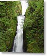 Bridal Veil Falls - Oregon Metal Print