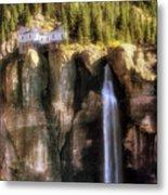 Bridal Veil Falls Power Plant - Telluride - Colorado Metal Print