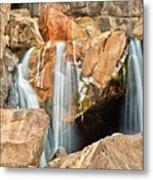 Bridalveil Fall In Yosemite Np Metal Print by Sankar Raman