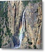 Bridalveil Falls From Above - Yosemite Metal Print