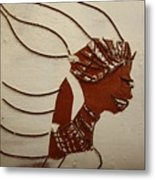 Bride 12 - Tile Metal Print