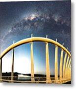 Bridge Across The Galaxy Metal Print
