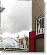 Bridge And Pier Eight Metal Print