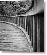 Bridge At Calloway II Metal Print