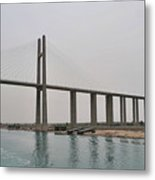 Bridge At Suez Metal Print