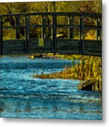 Bridge For Lovers Metal Print