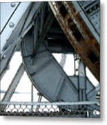 Bridge Gears Metal Print
