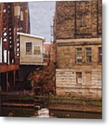 Bridge House Metal Print