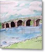 Bridge In Ireland Metal Print