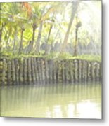 Bridge In Kerela Metal Print