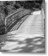 Bridge In The Path II Metal Print