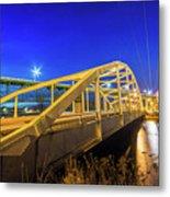 Bridge Meridian Sault Ste. Marie, Michigan -6792 Metal Print