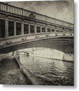 Bridge Of L'archeveche Metal Print