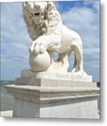 Bridge Of Lions II Metal Print