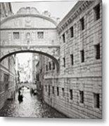 Bridge Of Sighs 5346-2 Metal Print