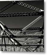 Bridge Of Strength Metal Print