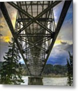 Bridge Of The Gods Metal Print