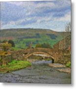 Bridge Over Duerley Beck - P4a16020 Metal Print
