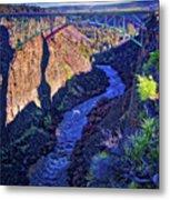 Bridge Over The Crooked River Gorge Metal Print