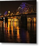Bridge Over The Ohio Metal Print