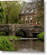 Bridge Over The River Clun Metal Print