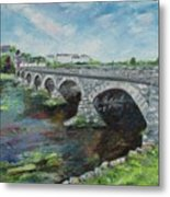 Bridge Over The River Laune, Killorglin Ireland Metal Print
