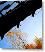 Bridge Over The River Sky Metal Print