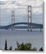 Bridge Over The Water Metal Print