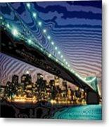 Bridge Over Troubled Waters Metal Print
