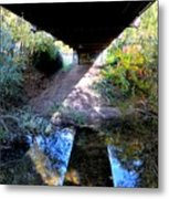 Bridge Puzzle Metal Print