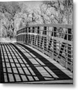 Bridge Shadows Metal Print