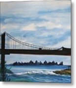 Bridge To Europe Metal Print